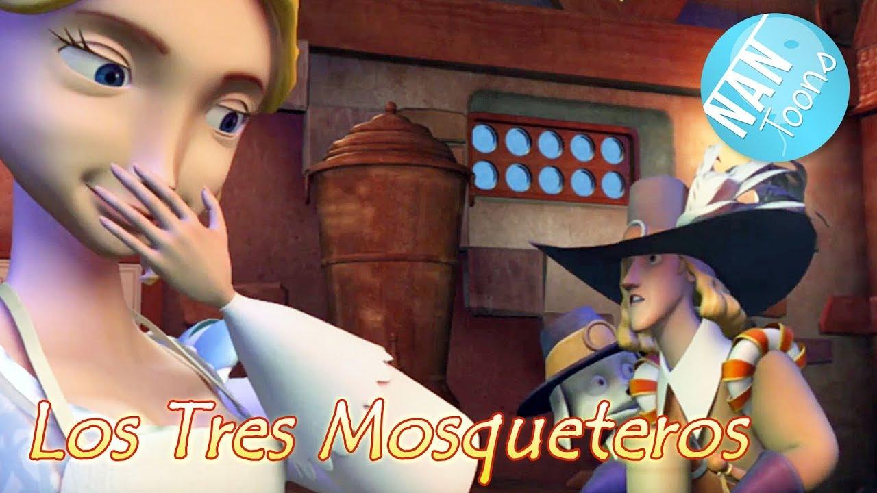 Ver LOS TRES MOSQUETEROS pelicula completa en español | dibujos animados para niños | cuentos infantiles en Español