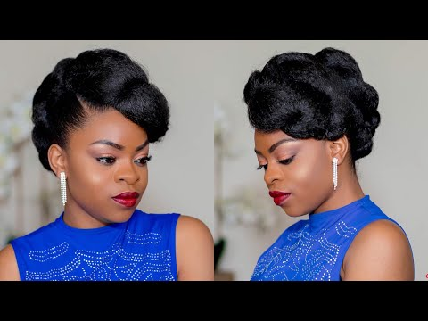 faux-updo-on-natural-hair