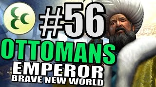 Civilization 5 Gameplay: Brave New World: The Ottomans Pt 56 [Europe Map Mod]