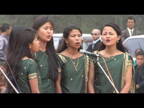 Standing choir kjp synod sepngi- Wahiajer