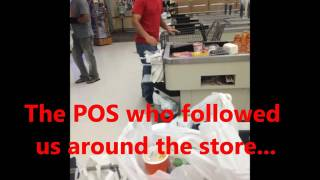 "Gang Stalking  "" Stalked at Stop and Shop "" 8/20/2016"