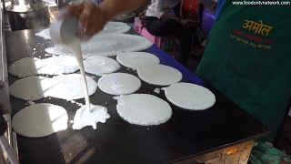 Dosa King | Making 45 Varites of Dosa | Indian Street Foods