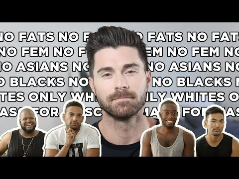 IS THERE RACISM IN THE GAY COMMUNITY?