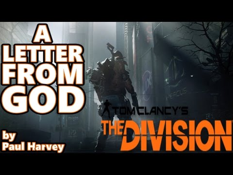 the division a letter from god by paul harvey