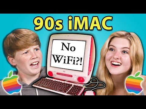 TEENS REACT TO FIRST iMAC EVER (20th Anniversary)