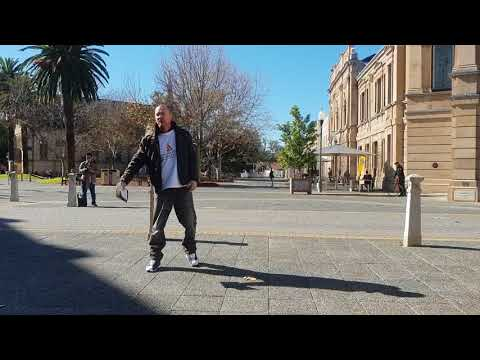 STREET PREACHING IN FREMANTLE WITH MY BROTHERS IN CHRIST