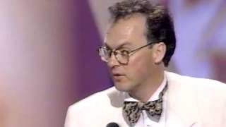 Michael Keaton and Jack Nicholson in 1990 - People's Choice Awards