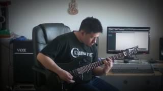 Jim Stasinos - Thorazine Shuffle (Savatage Guitar Cover)