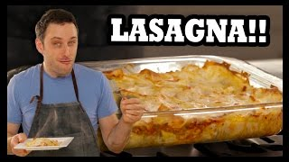 How To: Real Deal Traditional Lasagna - Food Feeder
