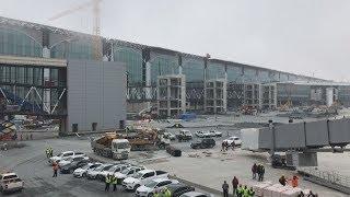イスタンブール新空港公開 世界有数、10月開港
