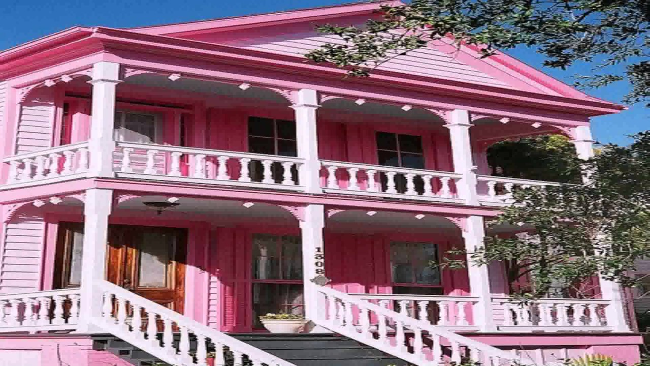 The Pink House Style And Design