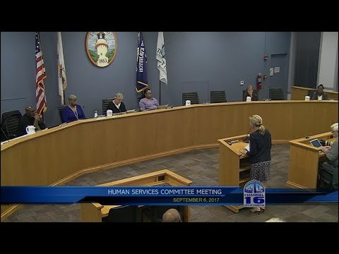 Human Services Committee Meeting 9/6/2017