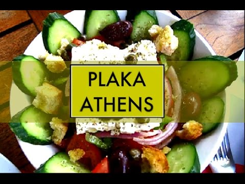 Plaka and Monastiraki (Athens, Greece): Walk Through/Paseo por Plaka y Monastiraki