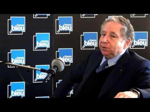 Jean Todt, président de la FIA, invité de Stade Bleu