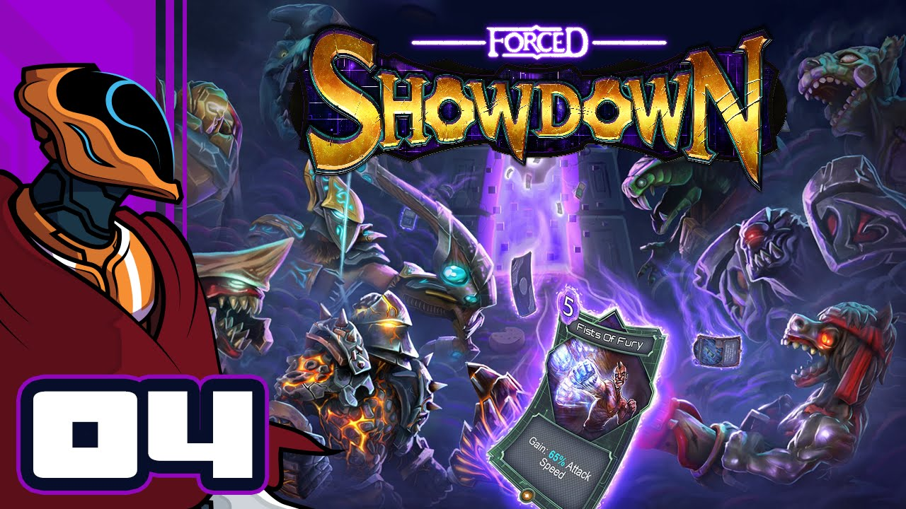 Forced Showdown Gameplay leaping mauler - let's play forced showdown - gameplay part 4