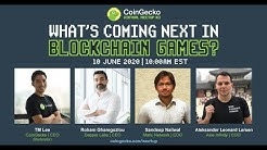 CoinGecko Meetup #3 - What's Coming Next in Blockchain Games?