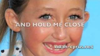 [slow version] PONYO SONG by Noah Cyrus WITH LYRICS