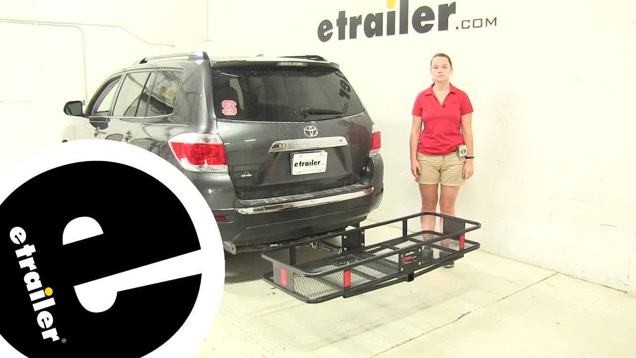 Review Curt Hitch Cargo Carrier 2017 Toyota Highlander C18151 Etrail