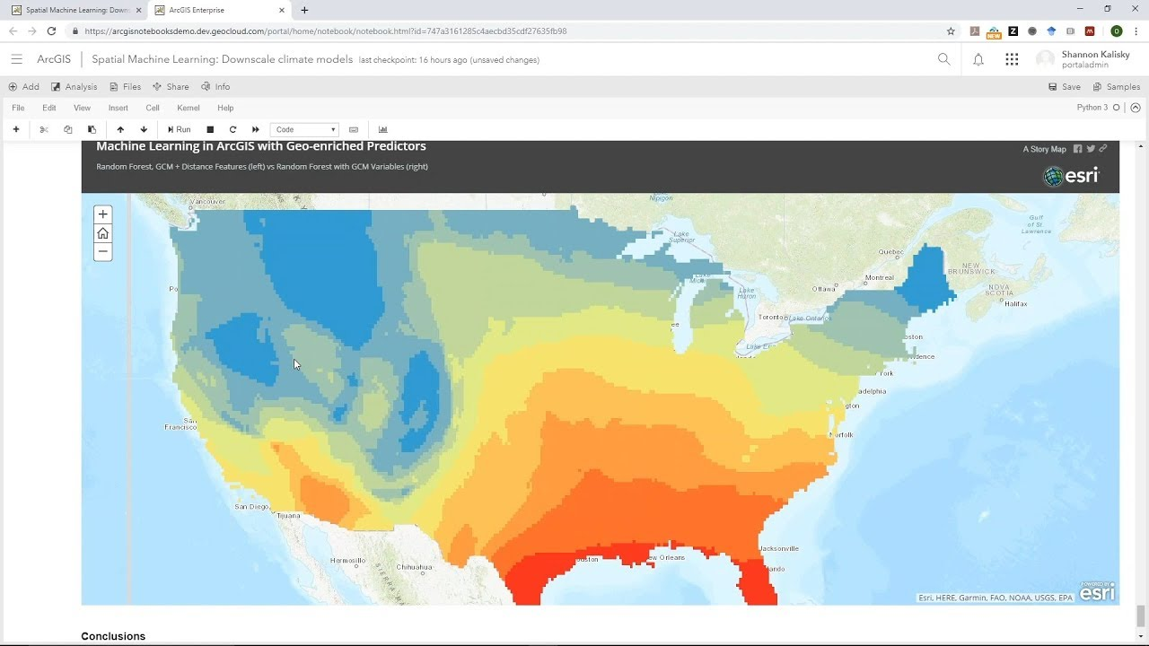 Spatial Analysis and Data Science Webinar