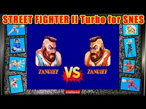 Zangief ノーコンティニュークリア - STREET FIGHTER II Turbo for SFC/SNES