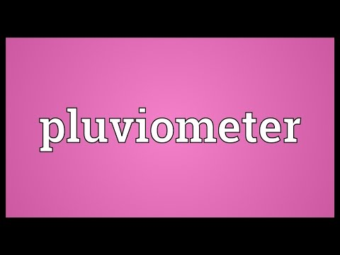Header of pluviometer