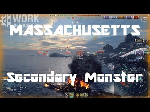 Massachusetts [WiP] - The USN Secondary Monster