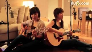 两位美女木吉他弹唱陶喆《普通朋友》