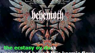 Behemoth - Ov Fire And The Void - KARAOKE
