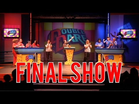 Final Double Dare Live show at Nickelodeon Suites Resort