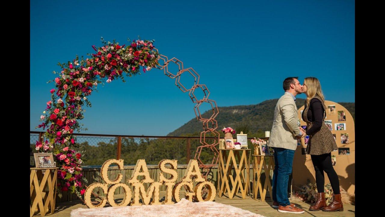 Pedido de Casamento em Canela RS - Paulo e Lidiane