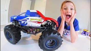Father & Son CRAZIEST RC MONSTER TRUCK!