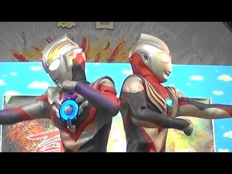 『ウルトラマンオーブ』ショー第4話 ウルトラマンティガ登場 Ultraman orb