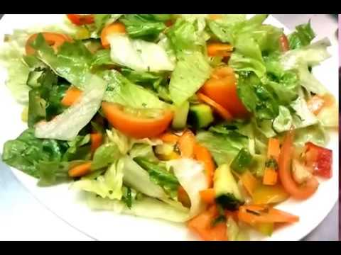 Green Salad Recipe Healthy Salad Recipes Low Carb Fat Loss Weight Loss Diet Plan Flat Belly Lose Fat Youtube