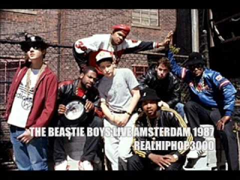 The Beastie Boys Live Amsterdam 1987 - Time To Get ILL (Hip hop / Hiphop)