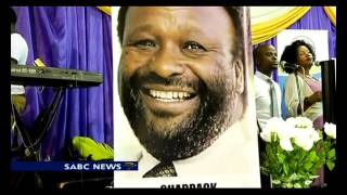 Mourners pay last respects to Shadrack Ngema