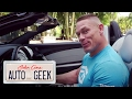John Cena's supercharged Mercedes-Benz Roadster screams DARTH VADER! - John Cena: Auto Geek | John Cena displays his unique 620 HP 2008 Mercedes-Benz SLR McLAREN and takes you for a test spin.  Subscribe to The Bella Twins on YouTube - http://bit.ly/2xdJky5 Follow The Bella Twins on Instagram - @theBrieBella @theNikkiBella Follow The Bella Twins on Facebook - http://www.facebook.com/OnlyBrieBellaWWE  http://www.facebook.com/WWENikkiBella   Subscribe to WWE on YouTube: http://bit.ly/1i64OdT #BellaTwins #BrieBella #NikkiBella