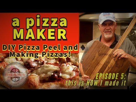 a pizza MAKER.  DIY Scrap Wood Pizza Peels, and actual Pizza!