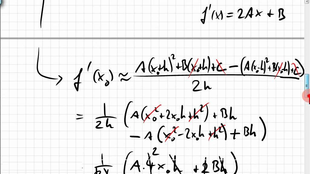 22A.1 Ableitung von Messreihen schätzen, numerisches Differenzieren ...