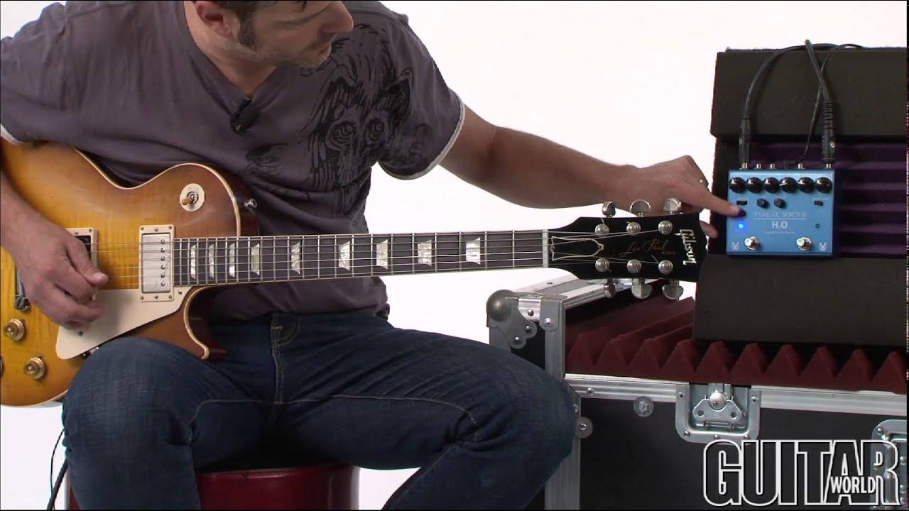 visual sound v3 series h2o liquid chorus echo pedal youtube. Black Bedroom Furniture Sets. Home Design Ideas