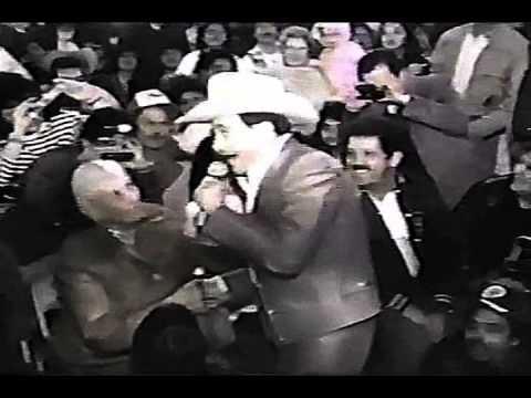 Antonio Pedro ( Pedro Infante ) en el palenque de Reynosa ( A.J.B. )