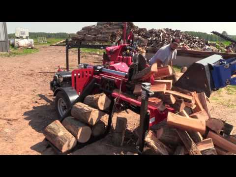 Commercial Log Splitter by Brute Force