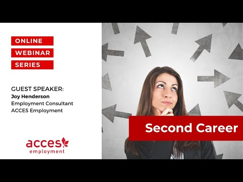 Second Career Webinar