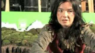 Björk interview; during Wanderlust making