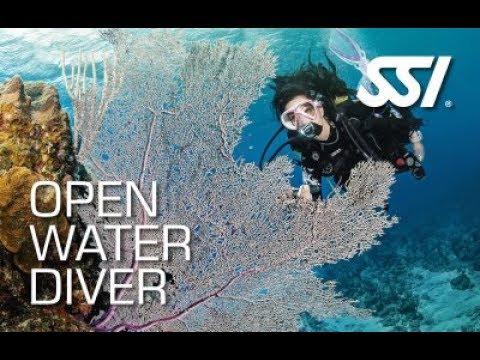สอบดำน้ำ open water แสมสาร marine dive ครูสันต์ SSI