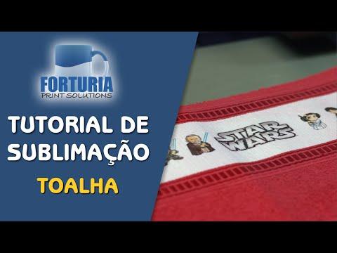 da533bc04 Kit de Toalhas - Vinho - Forturia - Tudo para Sublimação - Recife - PE