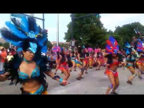 Birds At Play (Belizean American Dancers) 2014
