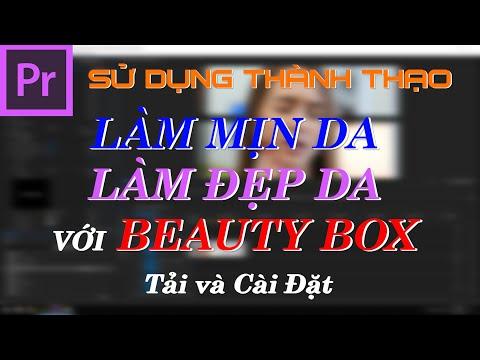 Làm Mịn Da Cho Video Trong Premiere Pro CC   Tải và Cài Đặt Beauty Box Full Crack