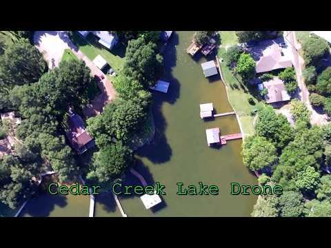 Cedar Creek Lake Drone Footage