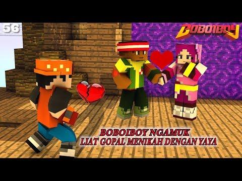 EP 56 Yaya Menikah Dengan Gopal! BoBoiBoy Ngamuk! - BoBoiBoy Upin \u0026 Ipin Season 1