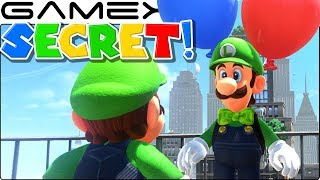 Luigi's SECRET Dialogue in Super Mario Odyssey's Balloon World DLC Update (All Costumes!)